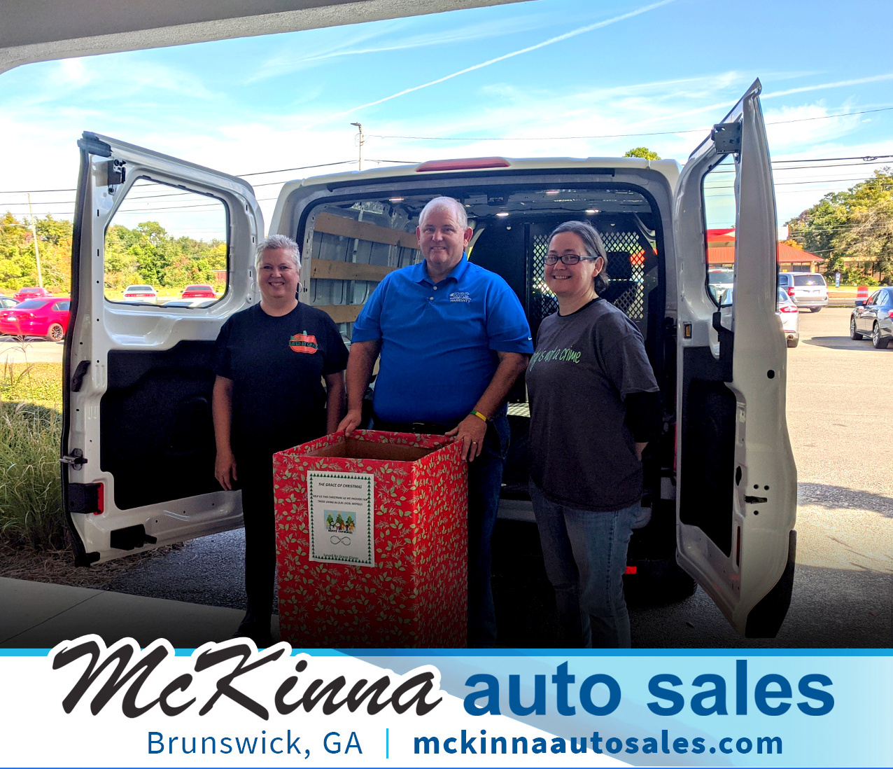 Saved by Grace and Mckinna Auto Sales Christmas Toy Drive
