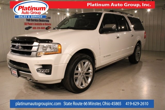 2016 Ford Expedition Platinum 4D Sport Utility