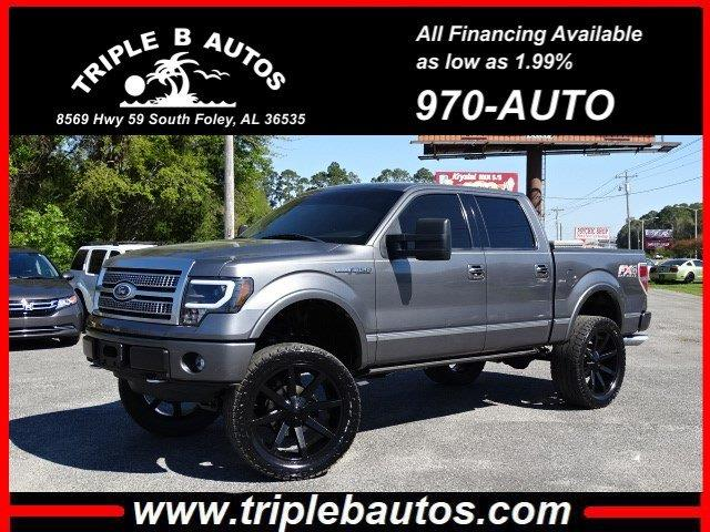2011 Ford 150 Platinum SuperCrew 6.5-ft. Bed 4WD