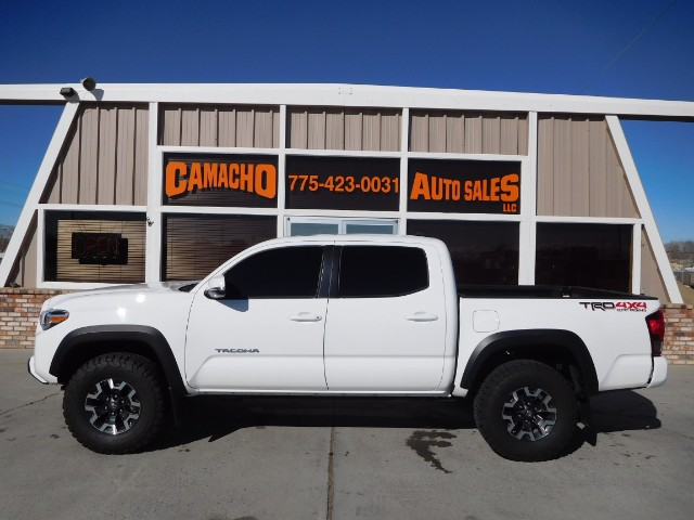 2016 Toyota Tacoma TRD Off Road Double Cab 5' Bed V6 4x4 MT