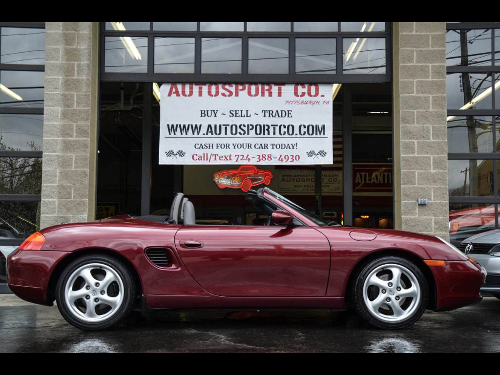 1999 Porsche Boxster Convertible w/Manual Transmission!