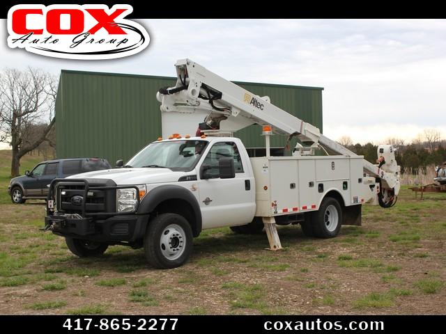 2012 Ford F-550 Altec AT40MH Bucket Truck 4WD