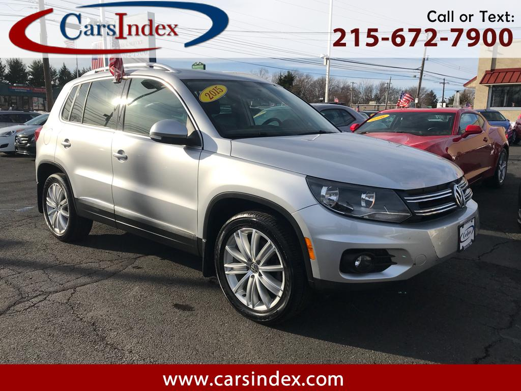2015 Volkswagen Tiguan SEL 4MOTION AWD,PANORAMIC ROOF,LEATHER.NAVIGATION,