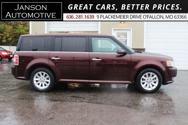 2012 Ford Flex SEL LEATHER FRONT/REAR GLASS ROOFS 3RD ROW REAR CA