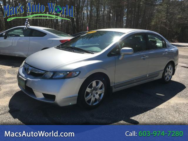 2009 Honda Civic LX Sedan 5-Speed MT