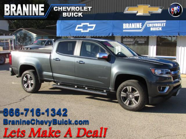 2015 Chevrolet Colorado LT Crew Cab 4WD Long Box