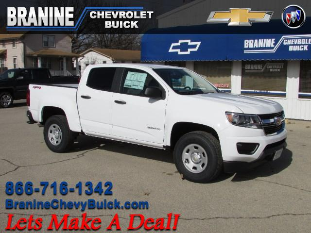2017 Chevrolet Colorado Work Truck Crew Cab 4WD Short Box