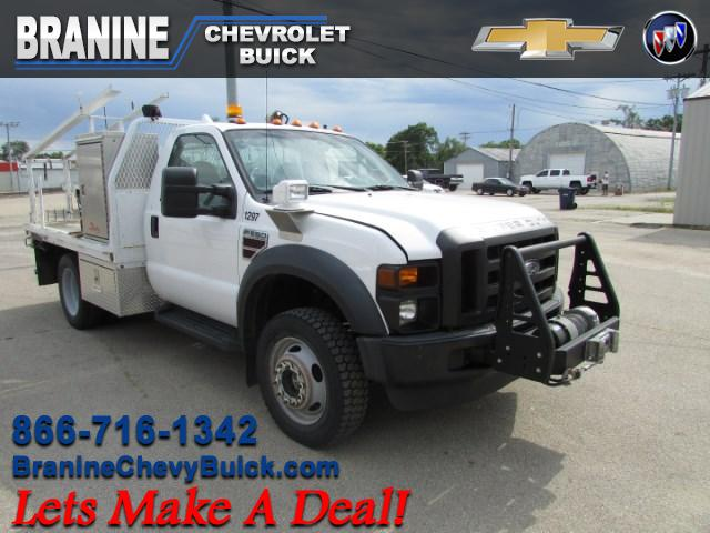 2008 Ford F-550 Super Duty XL 141 in. 4WD DRW