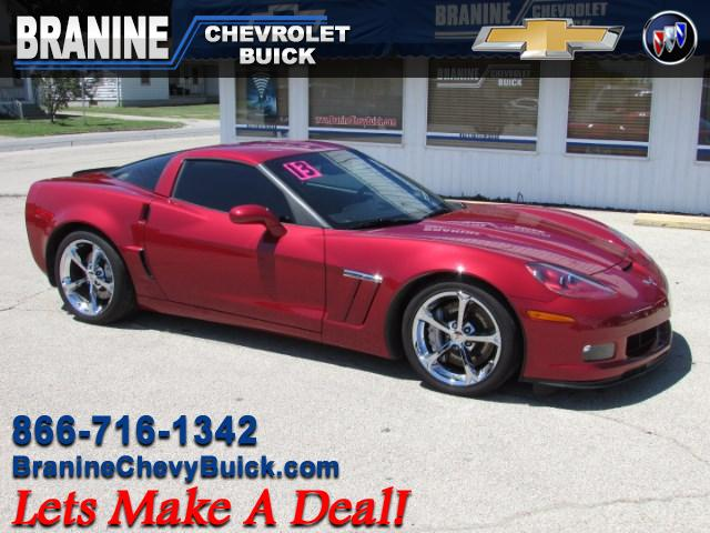 2013 Chevrolet Corvette GS Coupe 3LT