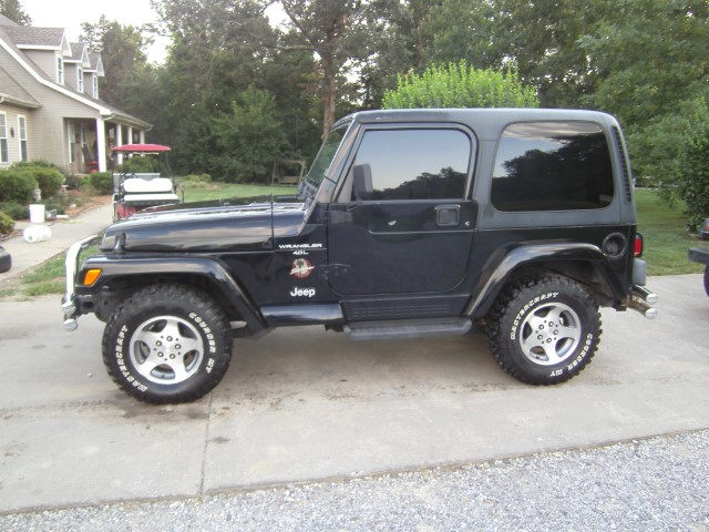used 1999 jeep wrangler for sale in hickory ky 42051 c k motors. Black Bedroom Furniture Sets. Home Design Ideas