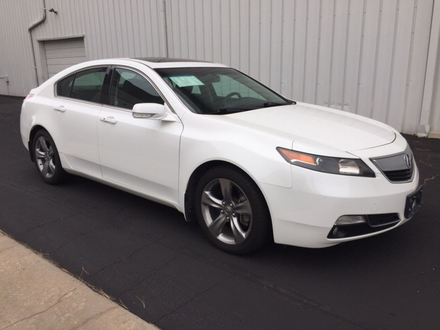 2012 Acura TL 5-Speed AT SH-AWD with Tech Package