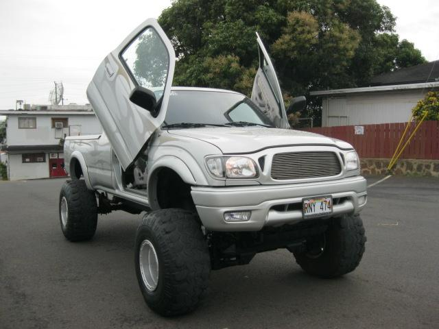 Heres an 03 with Lambo doors on it. Not really my style. BTW its for sale. And yes it does have the \