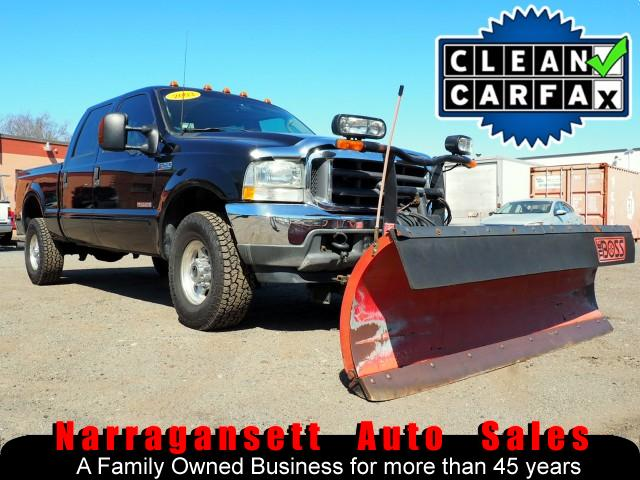 2003 Ford F-250 SD XLT Lariat 4X4 SuperCrew Diesel Boss Plow Leather