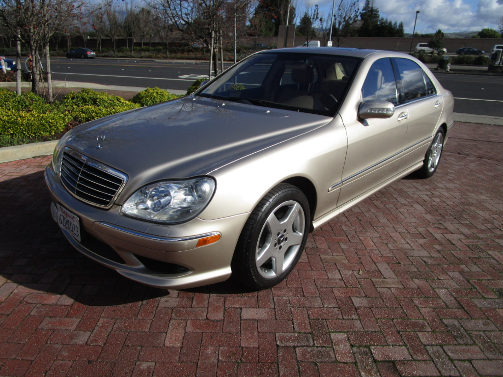 2004 Mercedes-Benz S-Class S430 AMG SPORT PACKAGE WITH HEATED SEATS*NAV*