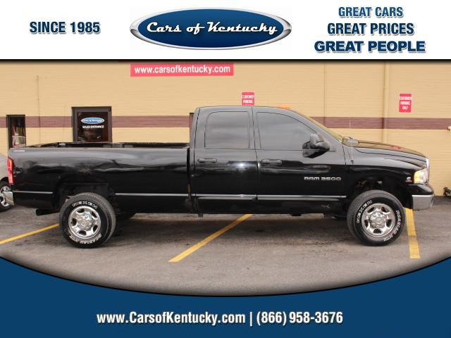 2005 Dodge Ram 3500 SLT Quad Cab Long Bed 4WD