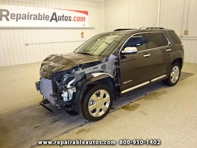 2014 GMC Terrain AWD Denali Repairable Front Damage