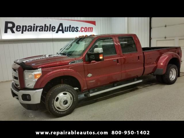 2016 Ford F-350 SD DUALLY Repairable Water Damage