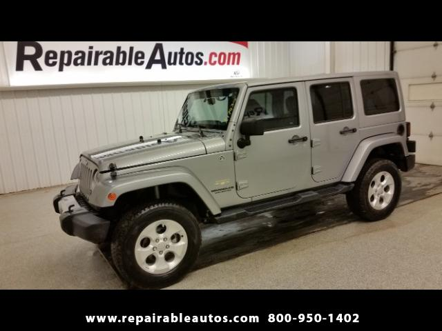2015 Jeep Wrangler UNLIMITED Repairable Water Damage