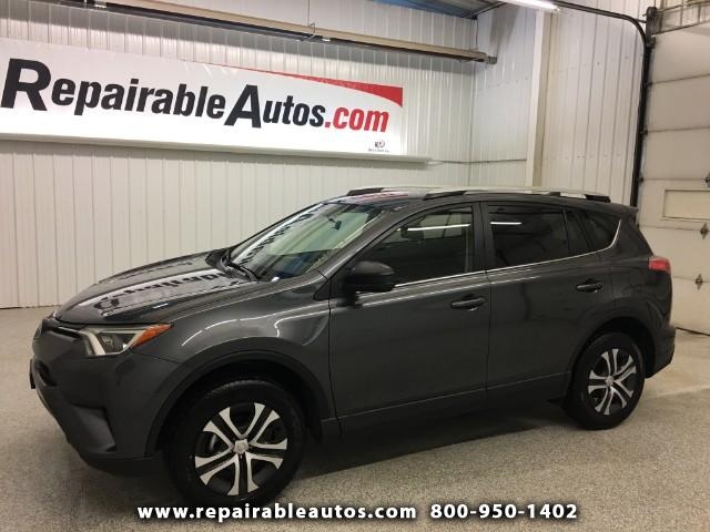 2016 Toyota RAV4 LE FWD Repairable Water Damage