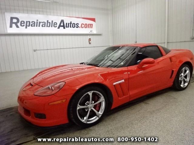 2013 Chevrolet Corvette GRAND SPORT Insurance Repaired Damage