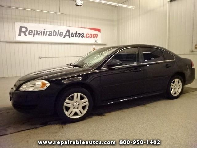 2014 Chevrolet Impala Limited LIMITED Repairable Rear Damage