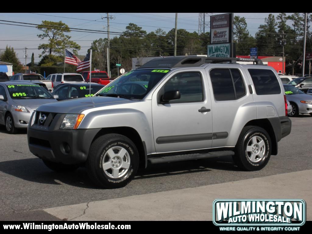 used 2006 nissan xterra or 4wd for sale in wilmington nc. Black Bedroom Furniture Sets. Home Design Ideas