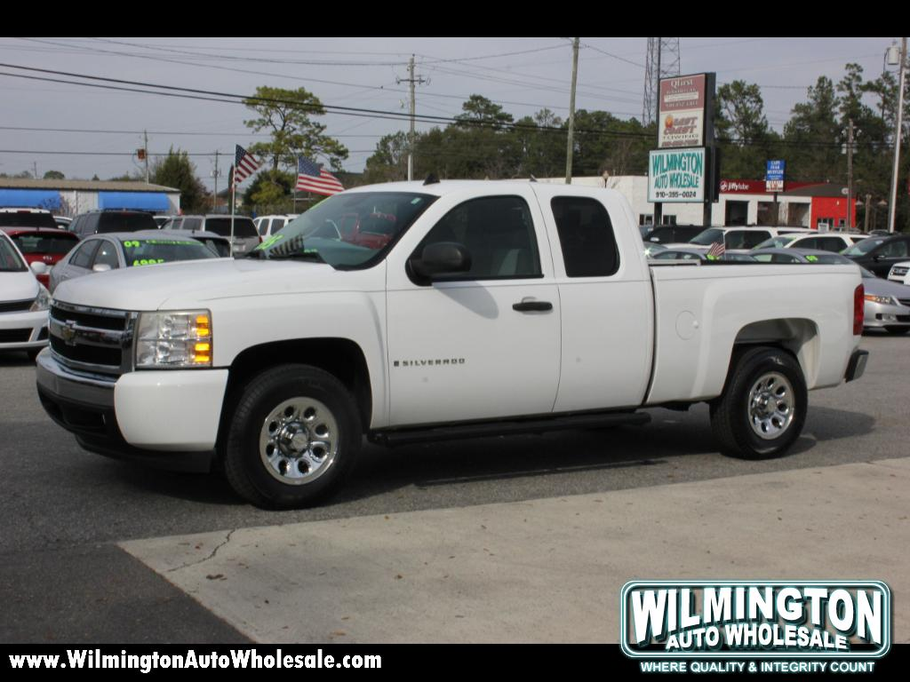 used 2008 chevrolet silverado 1500 work truck ext cab std box 2wd for sale in wilmington nc. Black Bedroom Furniture Sets. Home Design Ideas
