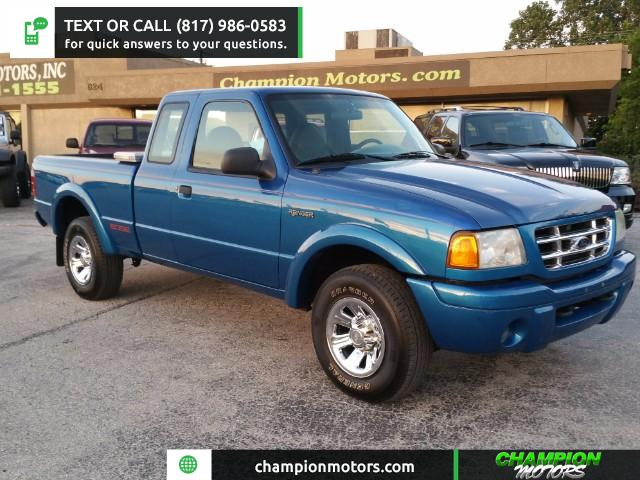 2001 Ford Ranger Edge SuperCab 3.0 2WD