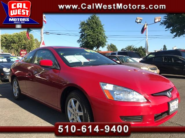 2003 Honda Accord EX-L Coupe SuperClean Leather 98K GreatMtnceHist