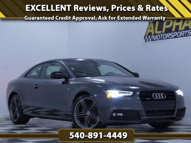 2014 Audi A5 2.0T Premium Plus S line Package