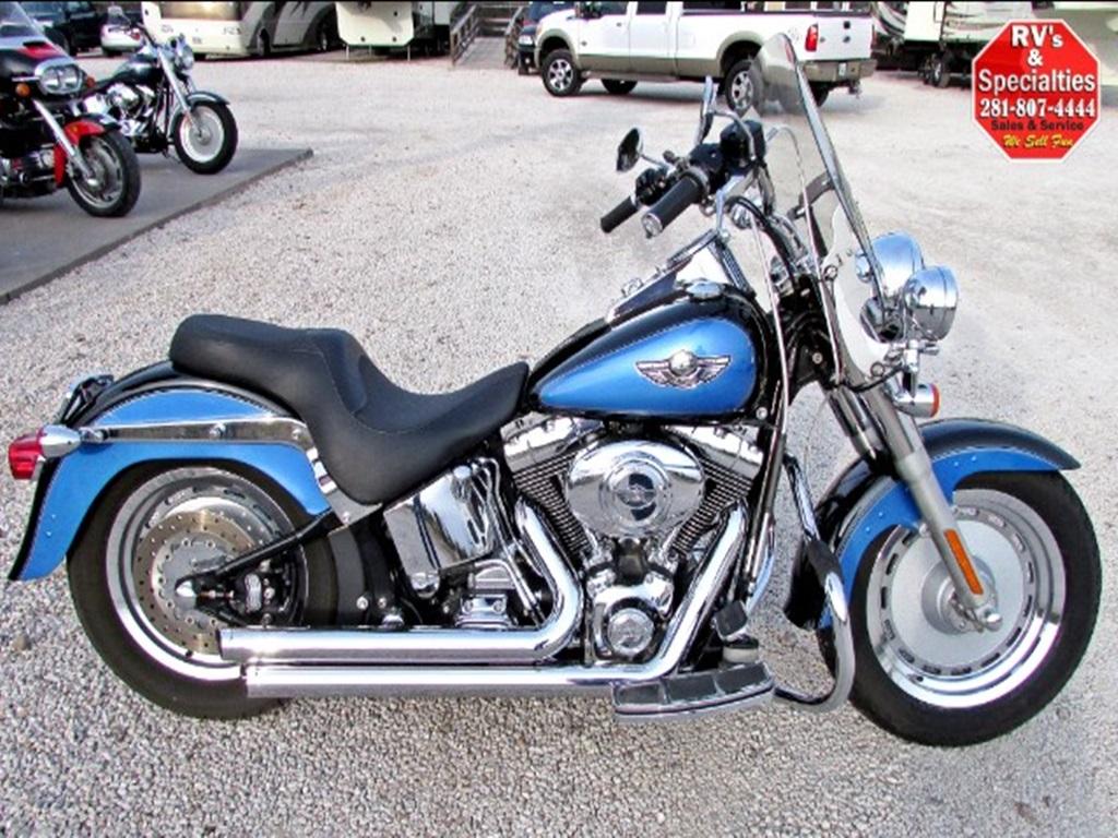 2003 Harley-Davidson FLSTFI FAT BOY ANNIVERSARY EDITION