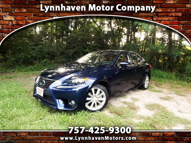 2014 Lexus IS 250 AWD w/ Premium Pkg., Camera, One Owner !