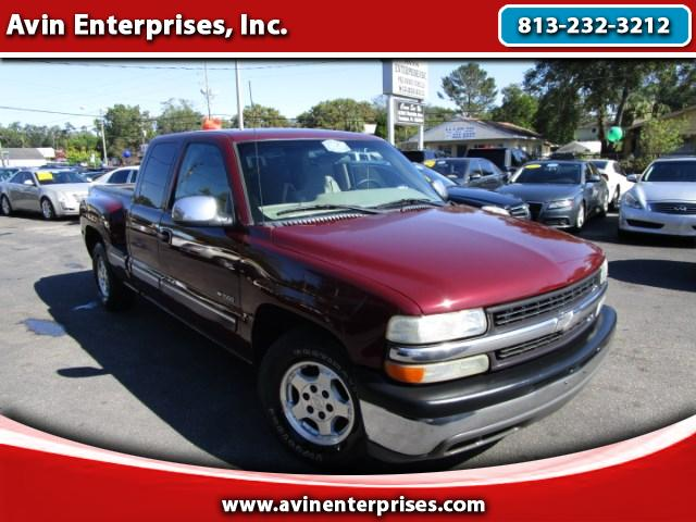 2001 Chevrolet Silverado 1500 Ext. Cab 4-Door Short Bed 2WD