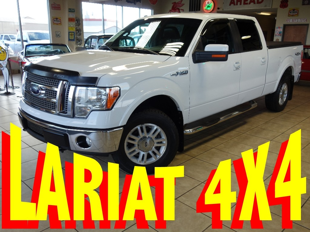 Used 2009 Ford F 150 Lariat Supercrew 4wd For Sale In De