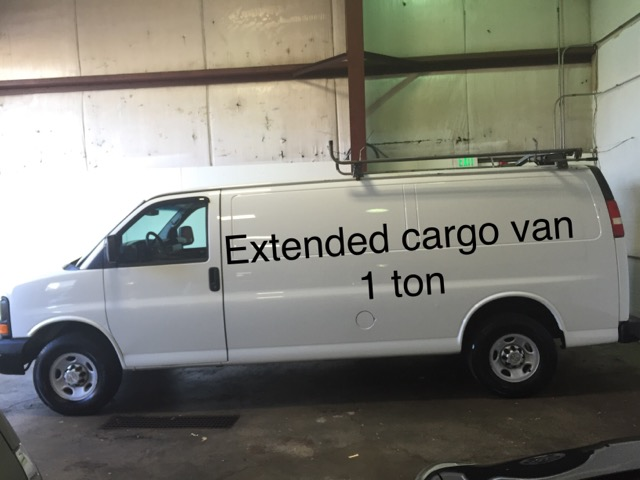 2010 Chevrolet Express 3500 Cargo Extended