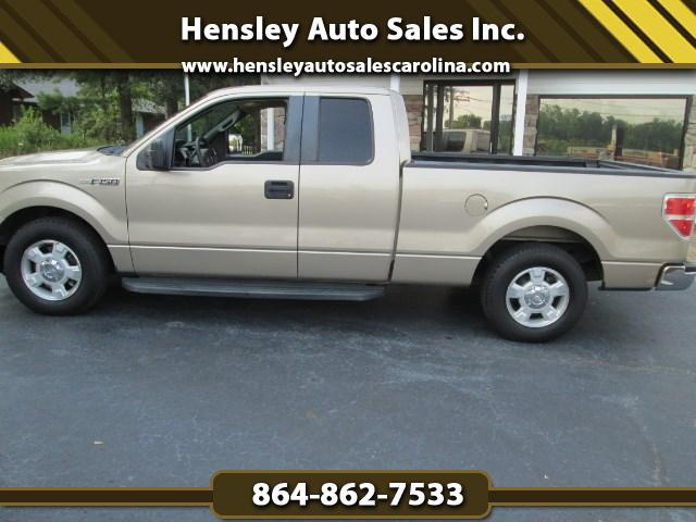 "2011 Ford F-150 2WD Supercab 133"" XLT"