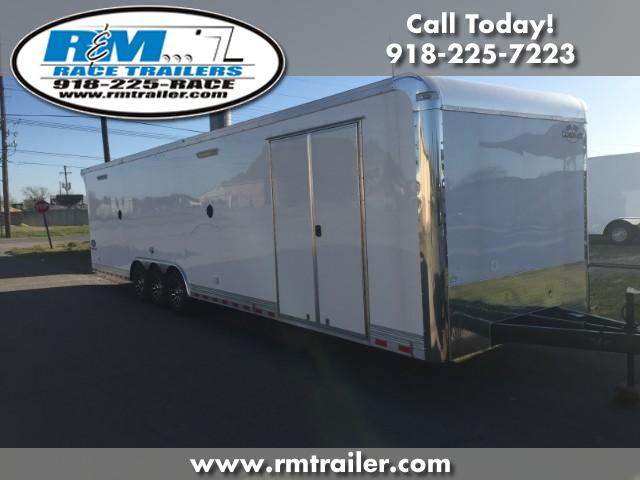 2018 Cargo Mate Eliminator 34FT ENCLOSED RACE TRAILER