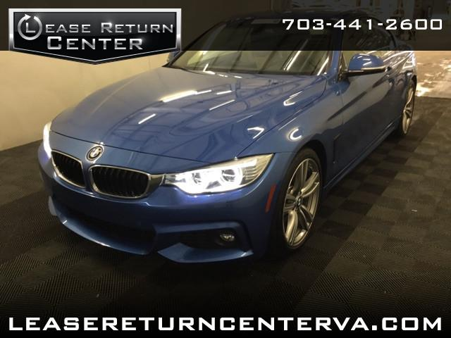 2014 BMW 4-Series 435i Convertible Msport Package