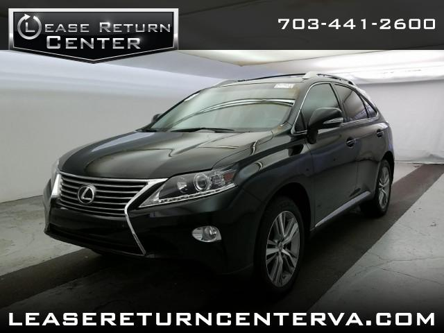 2015 Lexus RX 350 Premium With Navigation
