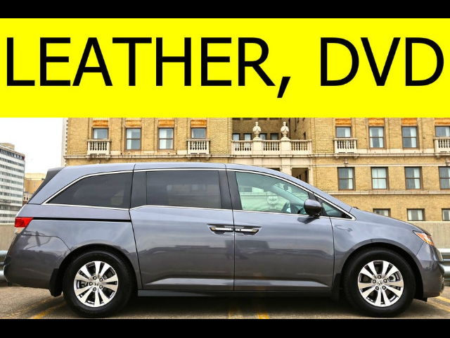2014 Honda Odyssey LEATHER DVD POWER SLIDING DOORS