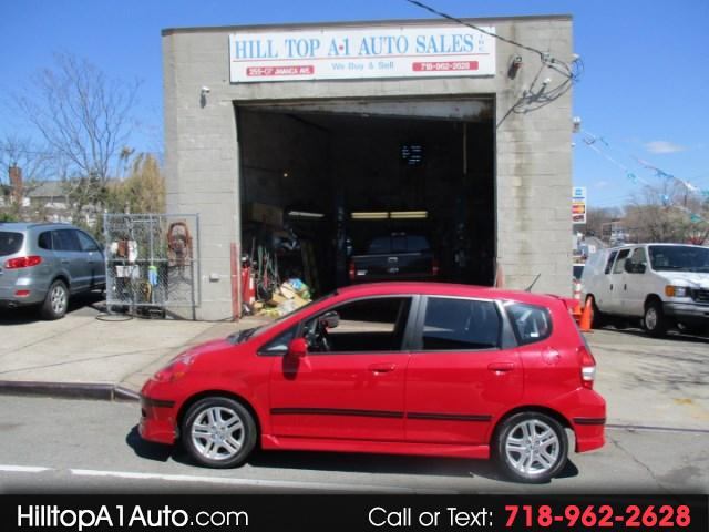 2007 Honda Fit Sport 4 Door Hatch Back ** 9K ** Fire Engine Red *