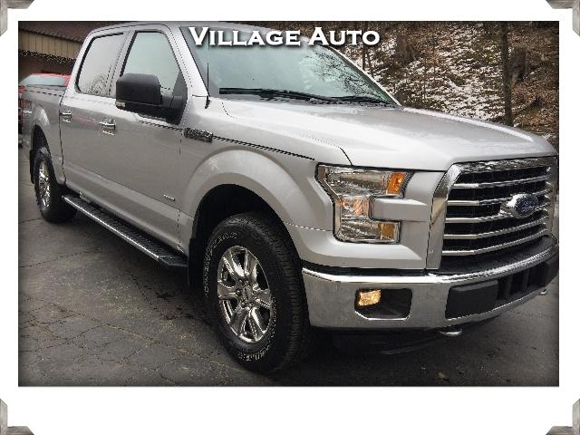 2015 Ford F-150 XLT Supercrew 5.5-ft Bed 4WD FX4