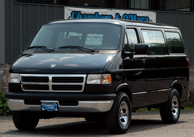 used 1997 dodge ram wagon for sale in sidney ny 13838. Black Bedroom Furniture Sets. Home Design Ideas