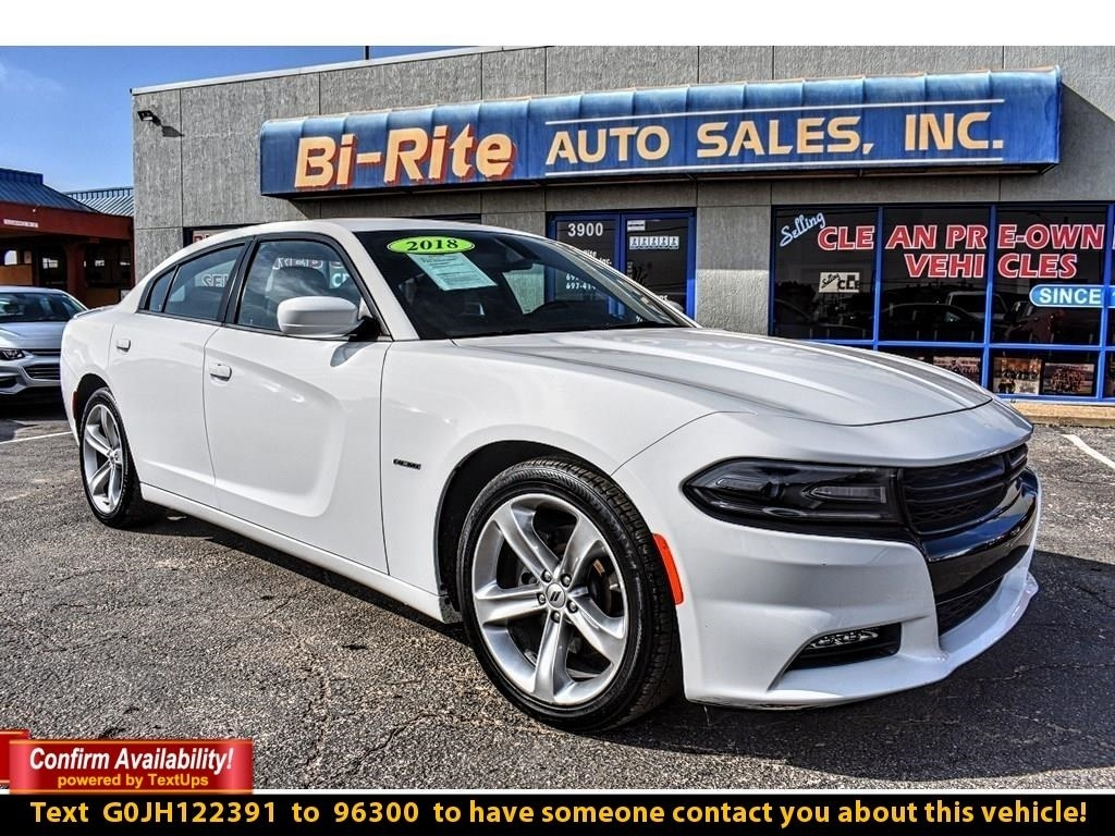 2018 Dodge Charger R/T 4DR SEDAN FUN, POWERED BY 5.7 HEMI