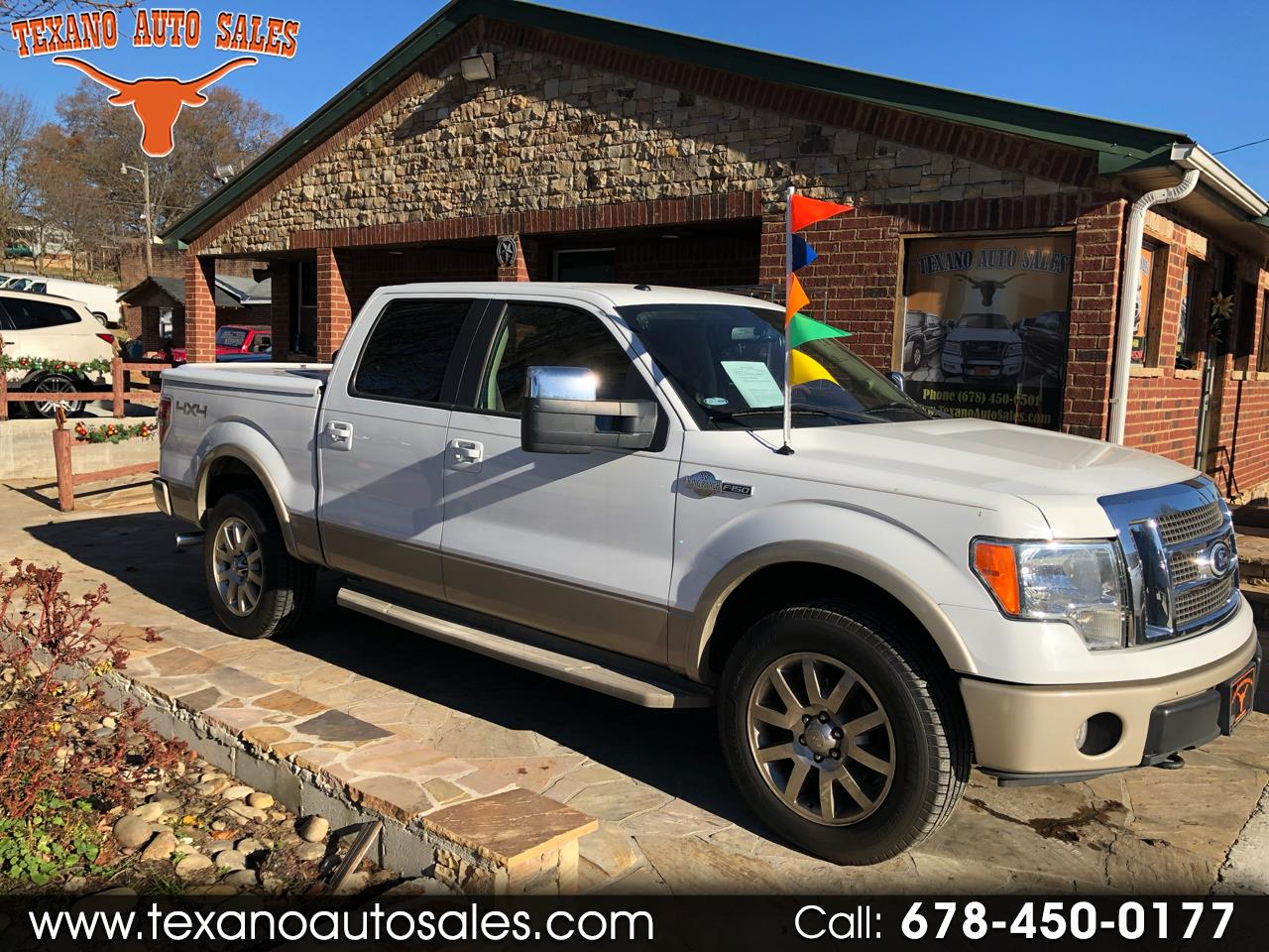 """2010 Ford F-150 4WD SuperCrew 139"""" King Ranch"""