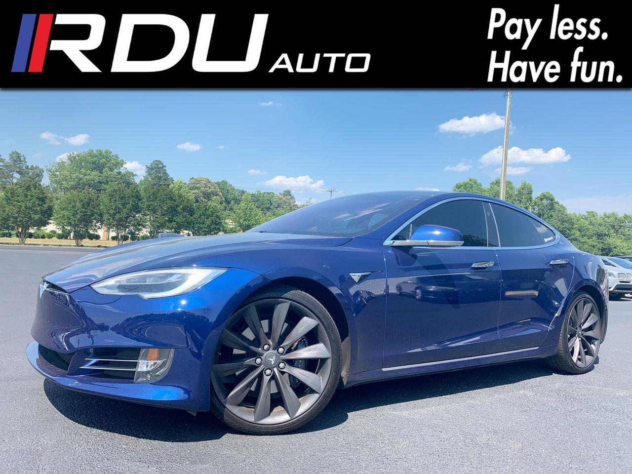 2017 Tesla Model S 75 Full Self Drive Ready, Autopilot 2, Glass Roof