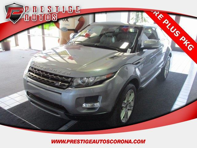2013 Land Rover Range Rover Evoque Pure Premium 3-Door