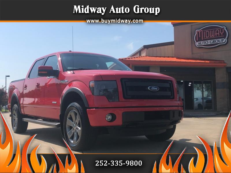 "2013 Ford F-150 4WD SuperCrew 150"" FX4"