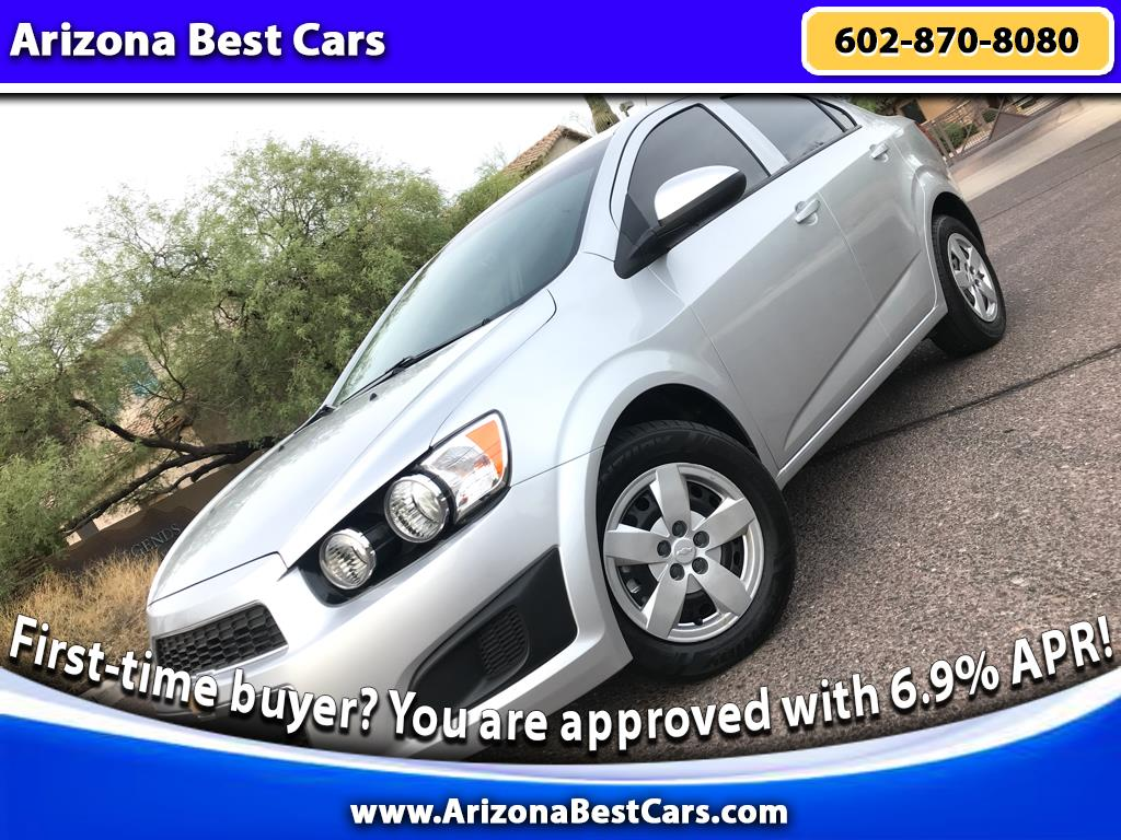 2015 Chevrolet Sonic 4dr Sdn Manual LS