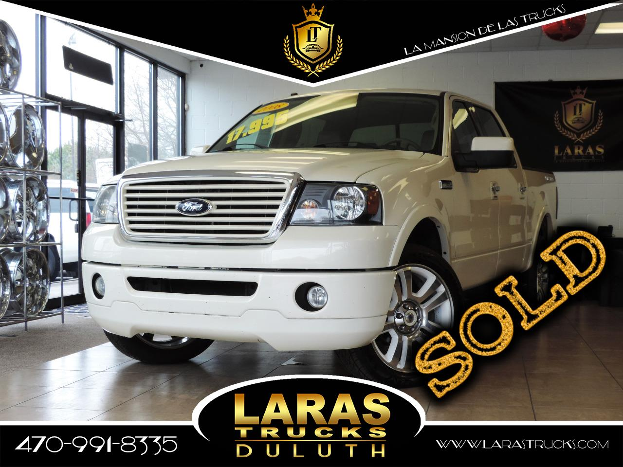 2008 Ford F-150 Limited 4WD SuperCrew 5.5' Box